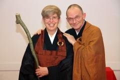 Linda und Nico Tydemann Roshi